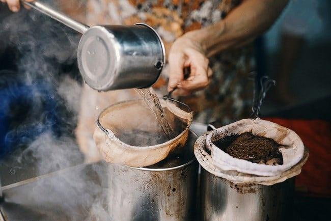 cách pha cà phê vợt này rất thịnh hành vào những năm 80