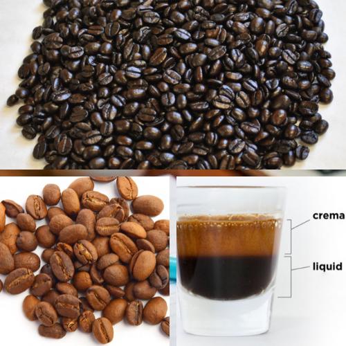 Màu sắc của cà phê và lớp crema cũng thể hiện được chất lượng