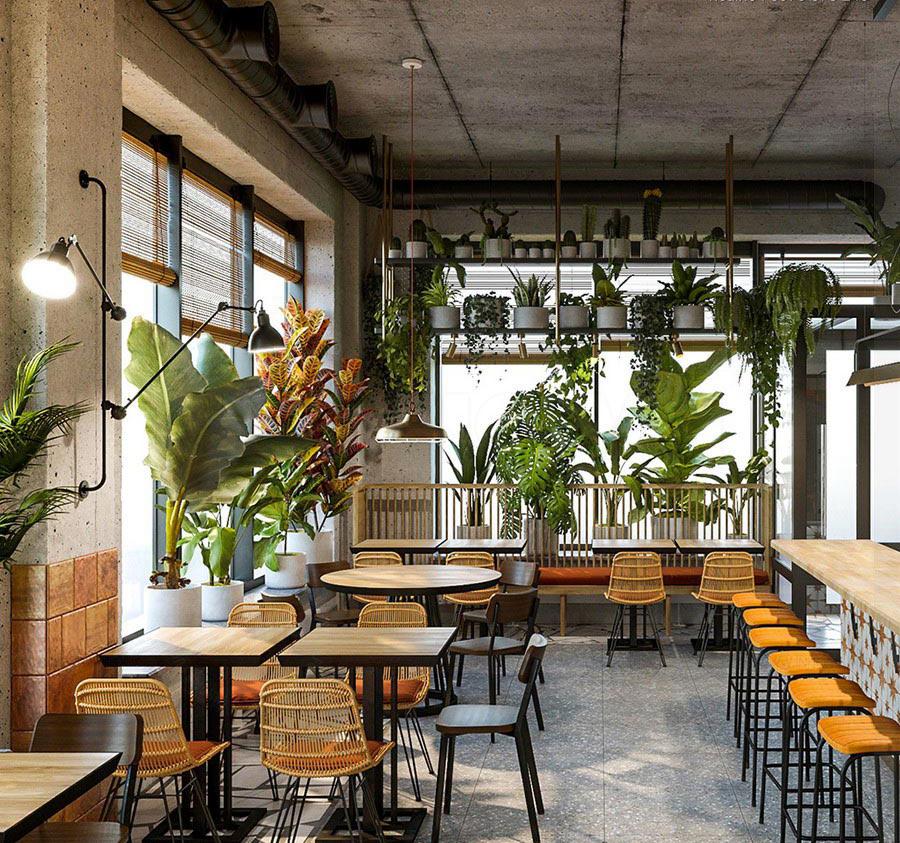 Thay đổi một vài thiết kế để tăng doanh thu cho quán cà phê